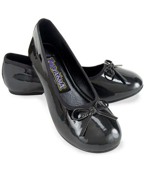 flat black shoes black ballet flats