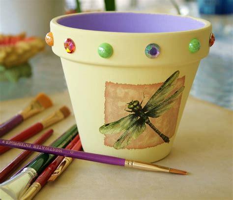 vasi terracotta colorati vasi terracotta tante idee originali per realizzare