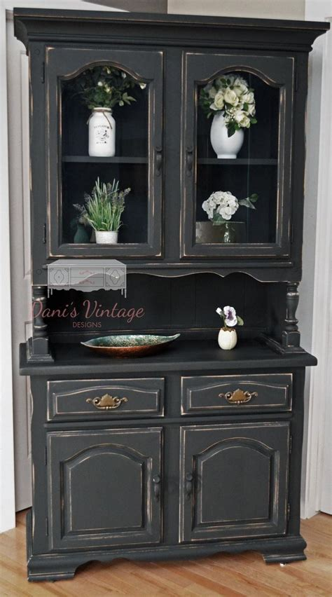 distressed kitchen furniture 25 best ideas about black china cabinets on