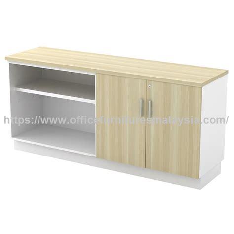 open shelf combine  swinging door design  side