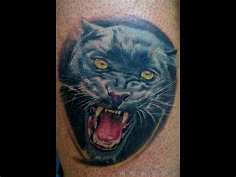 panther head tattoo realistic panther www pixshark images