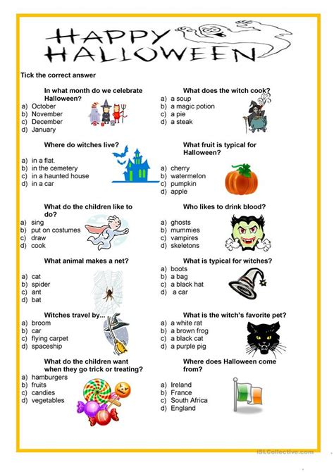 printable happiness quiz happy halloween quiz worksheet free esl printable
