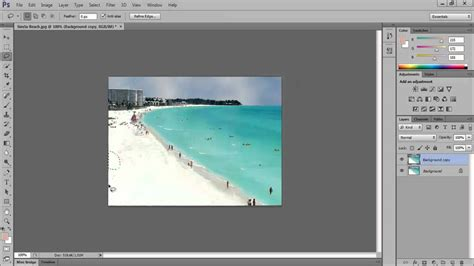 photoshop cs3 healing brush tutorial how to use lasso tool and spot healing brush tool in