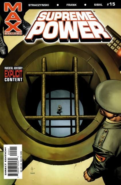 supreme power supreme power 11 never alone issue