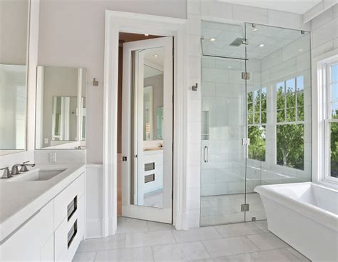bathroom mirror door popular paint color and color palette ideas home bunch