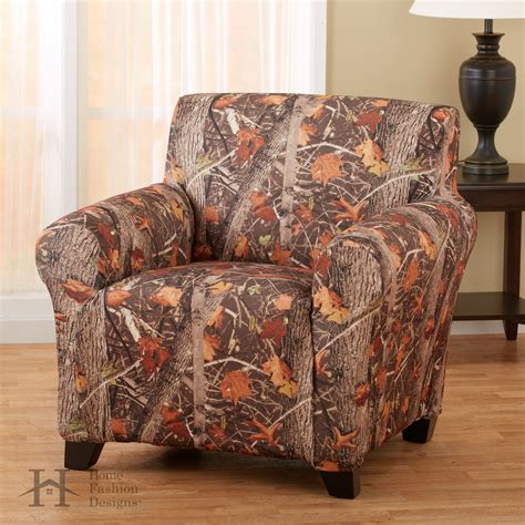 camo furniture slipcovers kings camo strapless slip resistant form fit furniture