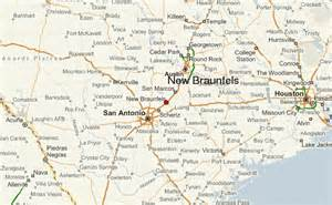 where is new braunfels map gu 237 a urbano de new braunfels
