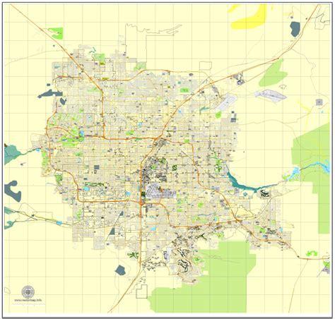us map states las vegas las vegas printable map nevada us city plan adobe