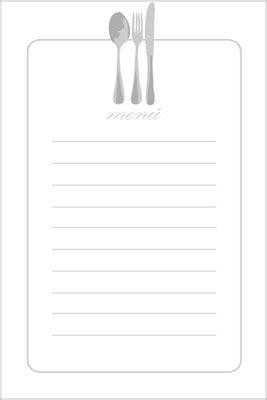 feistsa recipe card template 4 250 s para imprimir 4 menus to print para imprimir