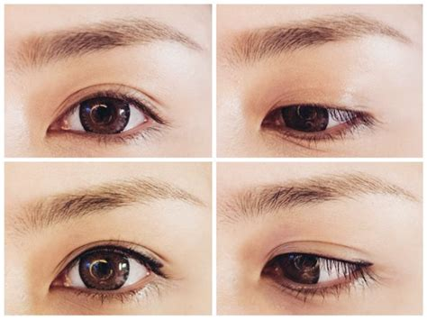 eyeliner tattoo before and after before after browhaus eye define semi perm eye liner