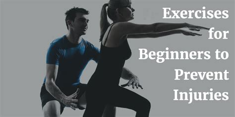 9 Tips To Prevent Workout Injuries by 5 Exercises For Beginners To Prevent Injuries