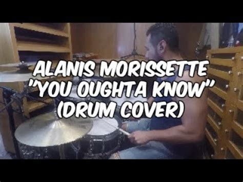 alanis morissette you oughta live cover alanis morissette you oughta drum cover
