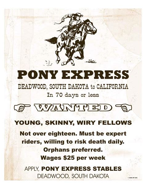 pony express ninety two a letter to the pony express