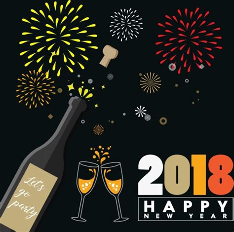 new year 2018 banner new year banner 2018 merry and happy new year 2018