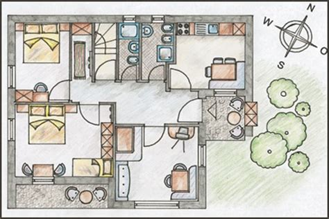 pianta appartamento 120 mq apartments vintlana selva val gardena