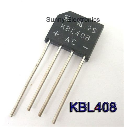 diode protection bridge 30pcs kbl408 kbl 408 bridge diode rectifier 4a 800v free shipping in rectifiers from electronic