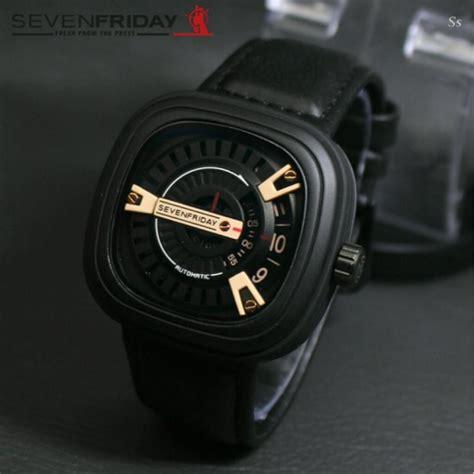 Sale Jam Tangan Pria Seven Friday setting tanggal pada jam tangan analog jualan jam tangan