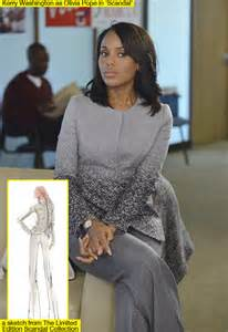 Collaborate on clothing line dress like olivia pope hollywood life