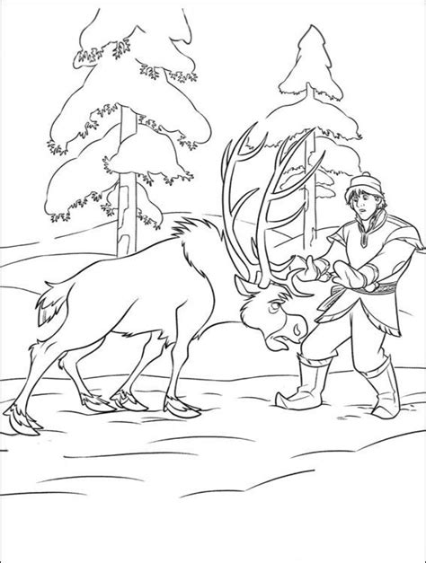 frozen kristoff coloring page free coloring pages of kristoff