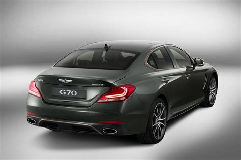 genesis g70 officially revealed as a handsome bmw 3 series