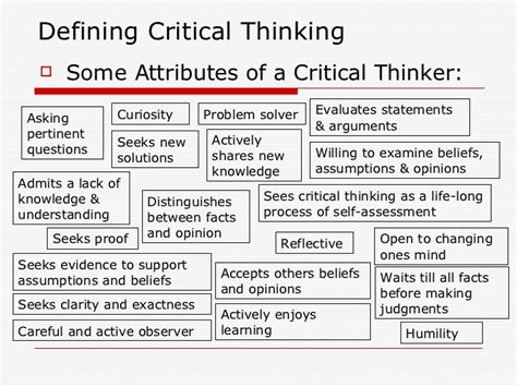 is criticalthinking in critical condition how questions critical thinking in education