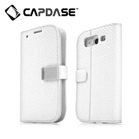Capdase Sider Polka Folder For Samsung Galaxy S3 galaxy s3 ケース folder sider polka white grey capdase iphoneケースは unicase