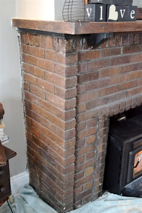 cleaning a brick fireplace newlywoodwards