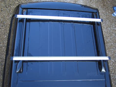 Hilux Canopy Roof Rack by Pair Of Roof Rack Cross Bars For Toyota Hilux Mk6 Vigo