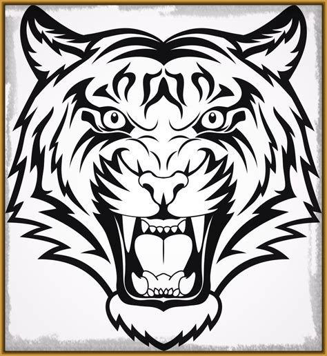 imagenes para pintar la cara cara de tigre para colorear hoy imagenes de tigres