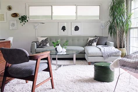 mid century moderne wohnzimmer decorating with green is a thing for 2018 according