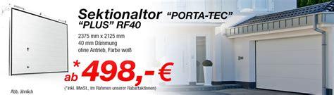 Sektional Garagentor Preise by Garagentore Nach Ma 223 Bestellen