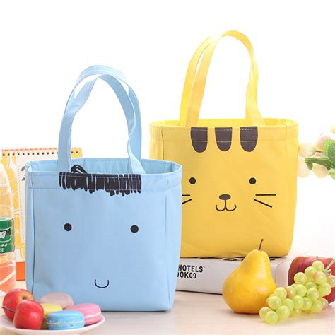 Lunch Cooler Box Terbaru Korean Style korea portable thicker insulation lunch bag lunch box lunch bags rice bags cooler