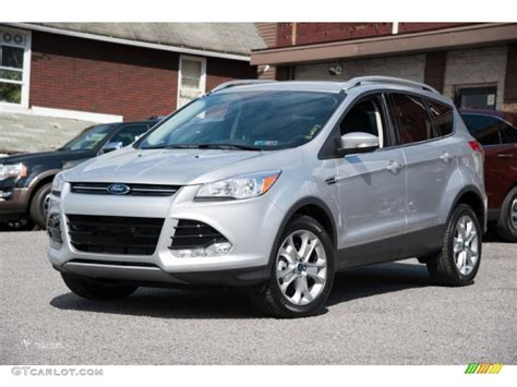 ford escape 2016 interior 2016 ingot silver metallic ford escape titanium 4wd