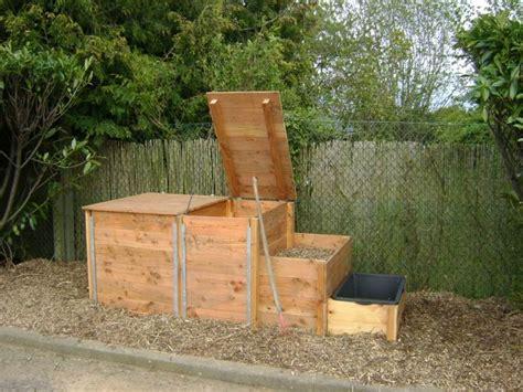 Fabrication D Un Composteur by Fabriquer Un Composteur C Est Simple Et 233 Cologique