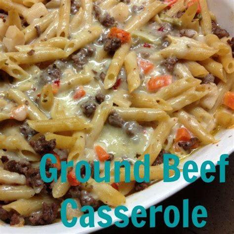 easy ground beef casserole recipe the noodle turkey casserole and veggies