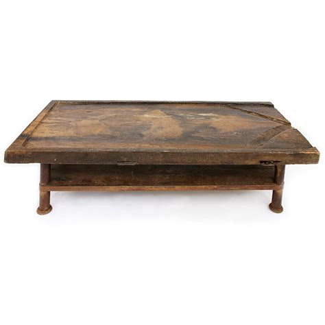 Handcrafted Table - handcrafted wood coffee table brazil baroque santa
