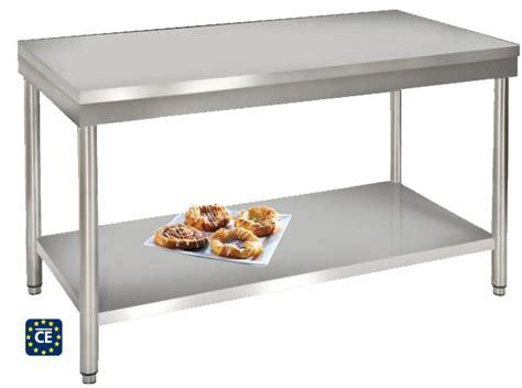 table cuisine inox 18 mod 232 les 224 partir de