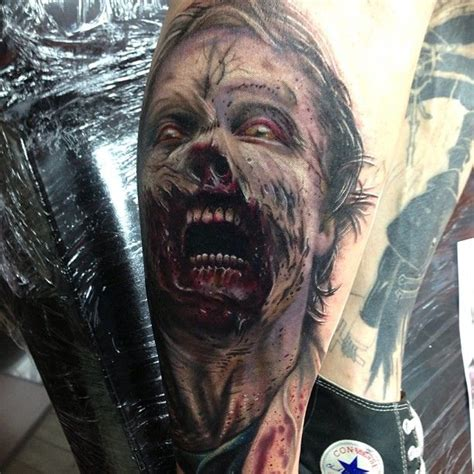 iron horse tattoo the walking dead by craig iron