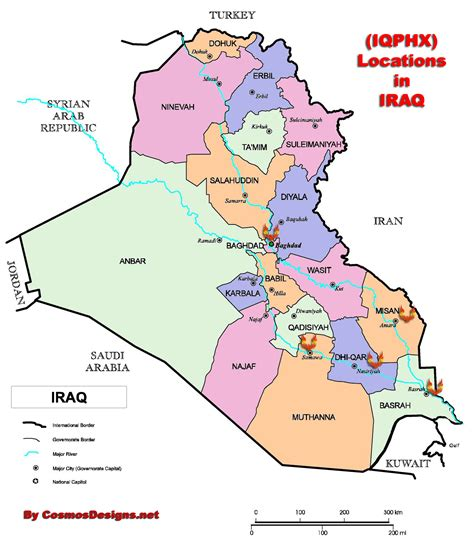 samawah iraq map where is located on a map