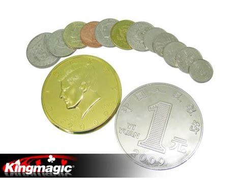 Cigarrete Through Coin cigarettes through coins custom kingmagic wholesale magic magic tricks china magic