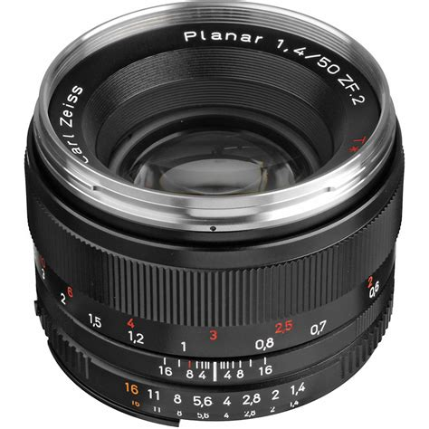 carl zeiss lenses zeiss planar t 50mm f 1 4 zf 2 lens for nikon f mount