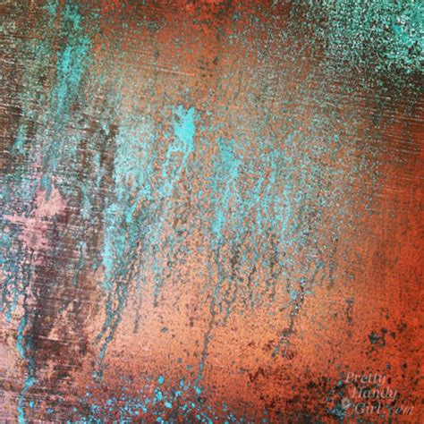 faux patina paint techniques inexpensive faux copper and patina