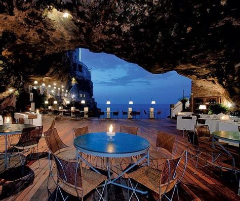 hotel ristorante grotta palazzese grotta palazzese polignano a mare italy favething