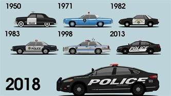 ford shows its history of cop cars in new