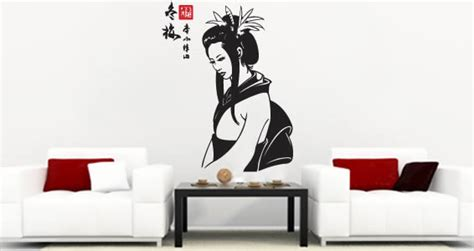 asian wall stickers my geisha asian wall decals dezign with a z