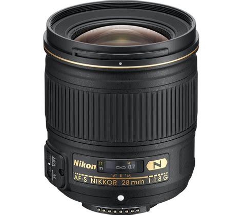 nikon af s nikkor 28 mm f 1 8 g wide angle prime lens