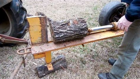 how to build a log splitter the lighthouse