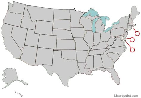 map usa states 50 states with cities us map 50 states quiz