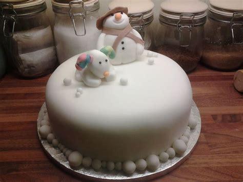 requested    snowman snowdog cake xx