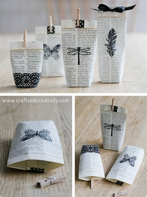 22 outstanding diy craft ideas to make with books